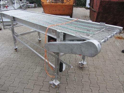 2003 Wire belt conveyor in