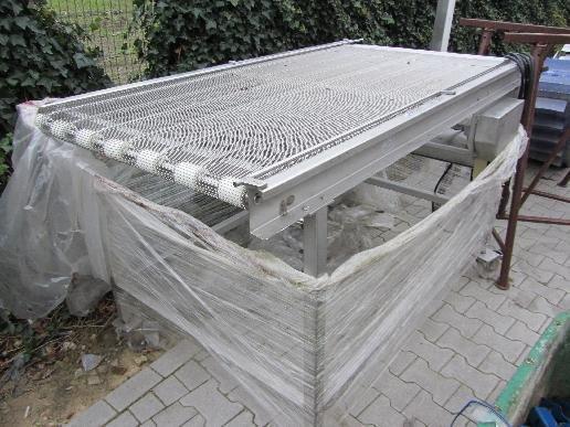 Wire belt conveyor in Germany