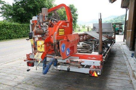 1995 mobil Sawmill in Eriswil,