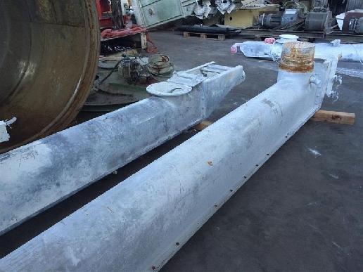 MK Foerdertechnik Trough Screw Conveyor