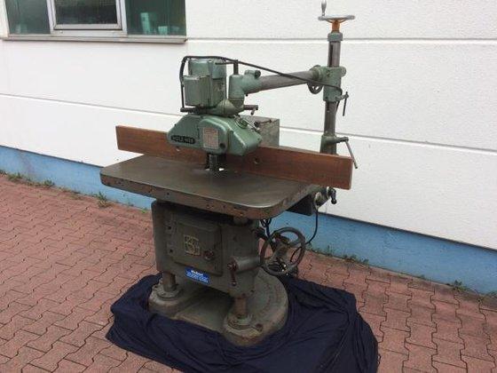 BG Spindle moulders in Rothenburg