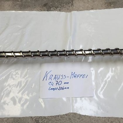 Krauss-Maffei 70 mm screw in
