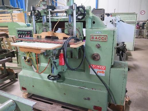 Bacci Slot milling machines in