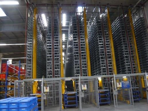 2010 SSI Schäfer floor rack