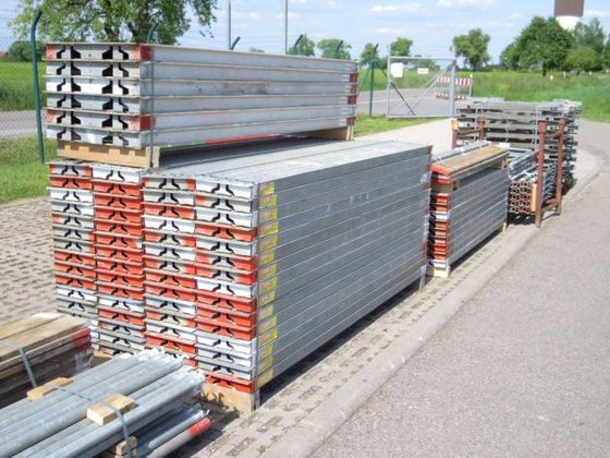 Hünnebeck Gekko scaffolding in Ruppertshofen,