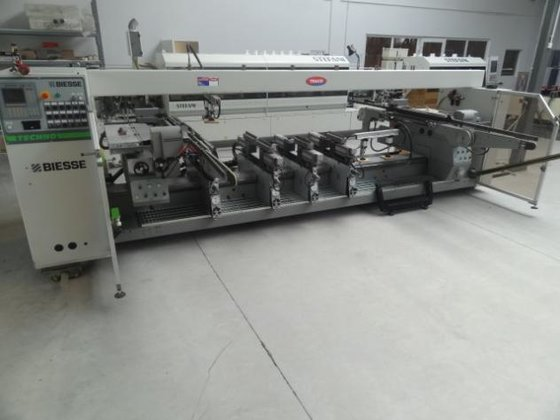2005 BIESSE TECHNO KF Throughfeed
