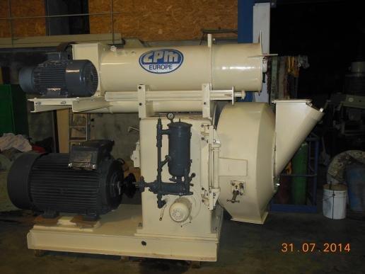CPM 7122 200kW pellet press