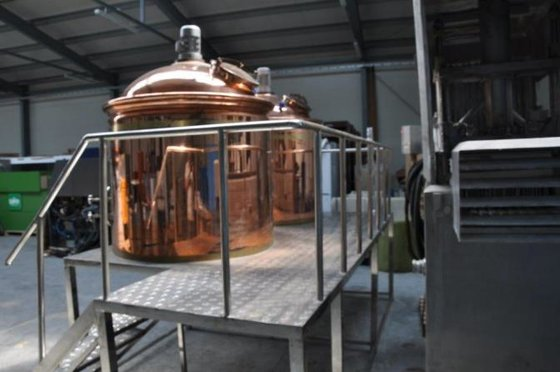 sudhaus 500 l brewery in