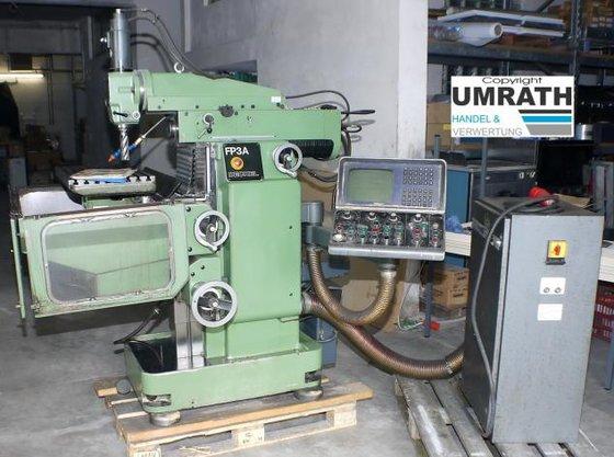 1981 Deckel FP3A Universal Milling