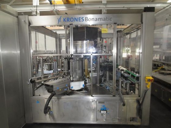 2006 KRONES Bonamatic Bottle labelling