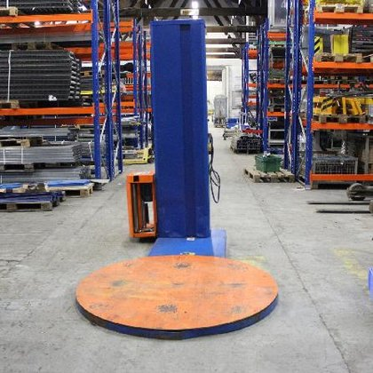 Dentz Pallet stretch-wrapper in Aschaffenburg,