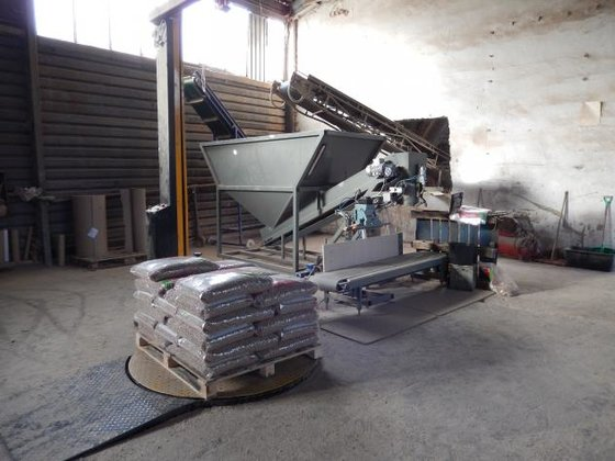 Complete line with Buhler 2t/h