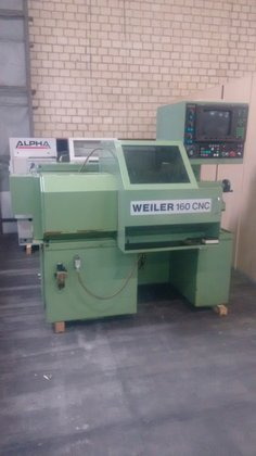 1986 Weiler 160 CNC Turning