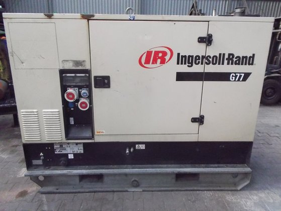 2003 Ingersoll-rand G77 Aggregates in