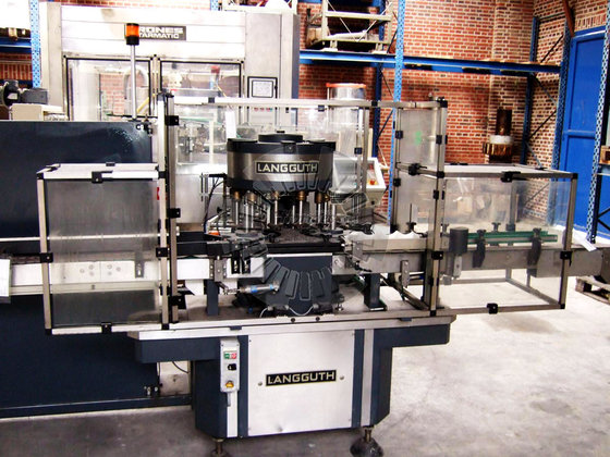 LANGGUTH E 62 Labelling machine