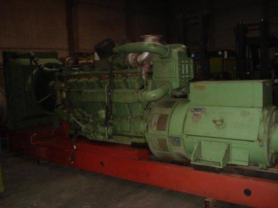 1991 Wartsila UD150 Diesel generators