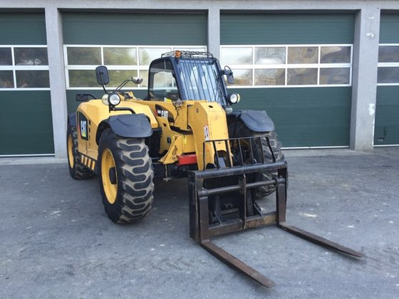 2008 Caterpillar TH407 Telescopic loaders