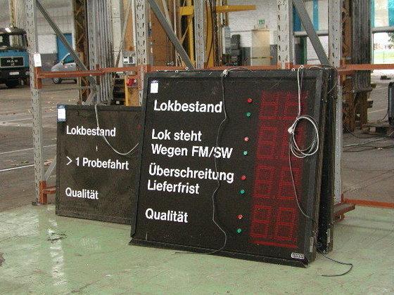Schauf 3 LED large indicating