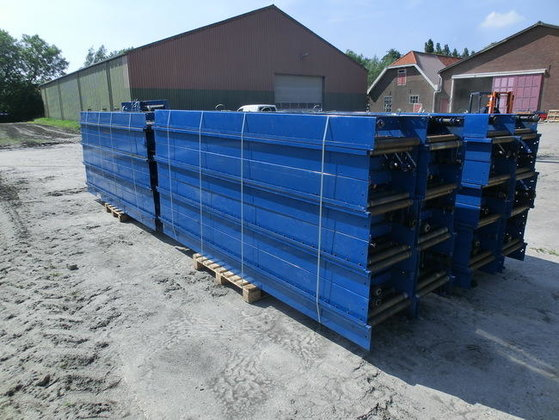 Used roller conveyors Powered in