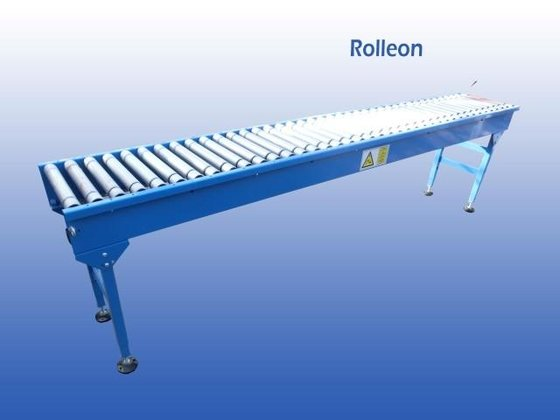 Roller conveyor driven conveyors in