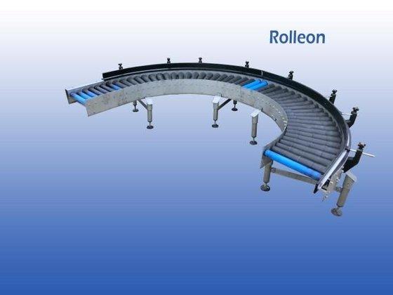 611 Roller conveyor curve belt