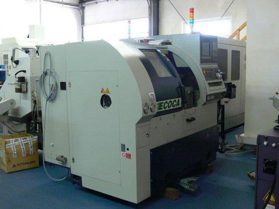2010 Ecoca SJ-20 CNC lathe