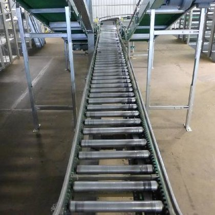 Arnold Roller conveyor with flat
