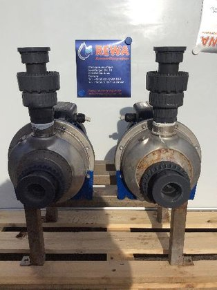 LOWARA 6-24 m³/h Pump in