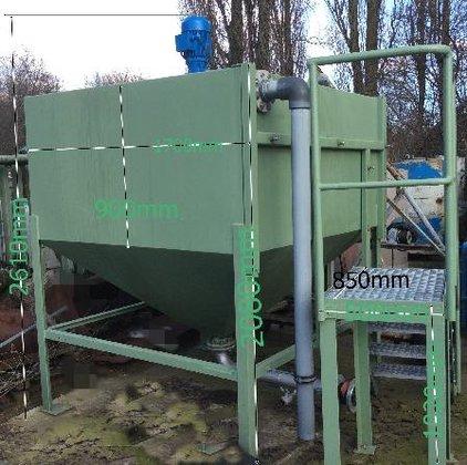 REWA Mixing tank in Gladbeck,