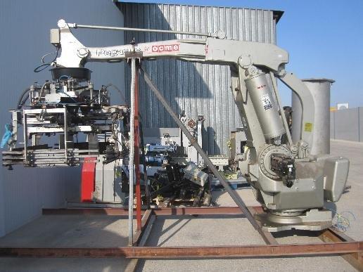 2001 Motoman YR-SP400-A00 ROBOT PALLETIZER