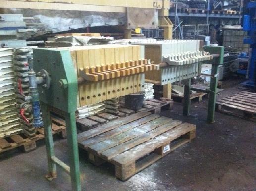 REWA 400/30 chamber filter press