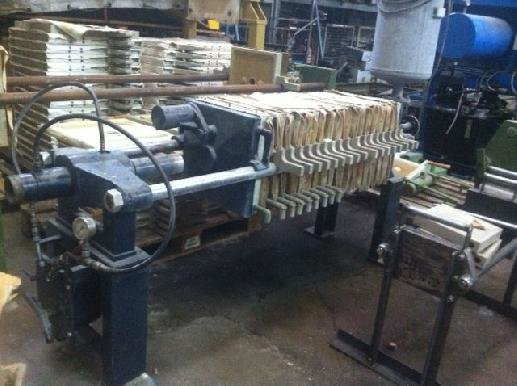 REWA 400/15 Chamber fitler press