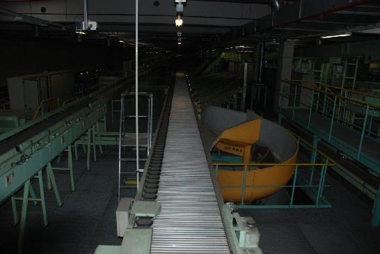 Vanderlande Shoe Sorter in Leipzig,