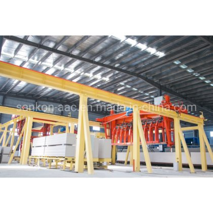Widely Used Autoclaved Aerated Concrete Aac Block Machine