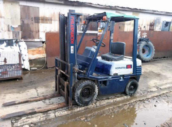 Komatsu Forklift 1 5 t with long nail FG - 15 - 15 Institution best in