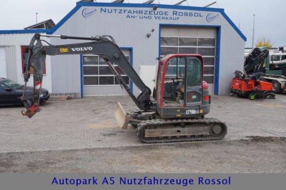 2008 Volvo ECR88 Plus SW Mini Excavator 9 T Climate in Mücke, Germany