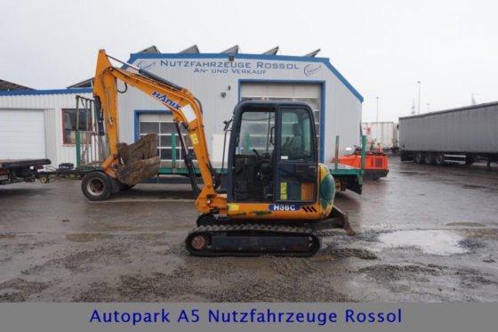 2007 Hanix H36C H 36 C 3 5 T Mini Excavator Quick Coupler in Mücke, Germany
