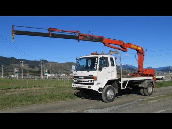 ISUZU FTS600 in New Zealand