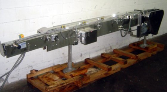 NERCON 8-FT. STAINLESS STEEL CONVEYOR