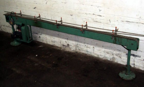 ISLAND EQUIPMENT 11-FT CONVEYOR, 3-1/2""