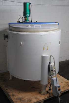 TYCON 300-GAL GLASS LINED TANK
