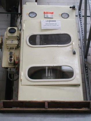 GLATT TR-15 FLUID BED DRYER