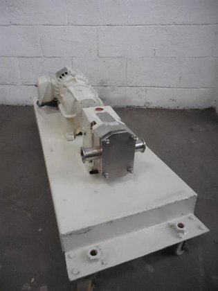INOXPA S/S POSITIVE DISPLACEMENT PUMP