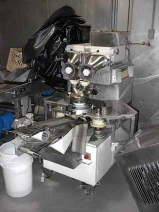 RHEON CORNUCOPIA KN200 ENCRUSTING MACHINE