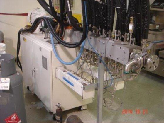 Coperion model ZSK-26-211 S/S Twin