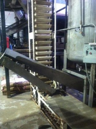 Stainless Steel V-Shaped Feed Auger