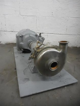 STAINLESS STEEL CENTRIFUGAL PUMP -