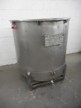 Polinox stainless steel 166 gallon