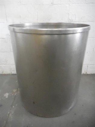 Stainless steel 68 gallon tank