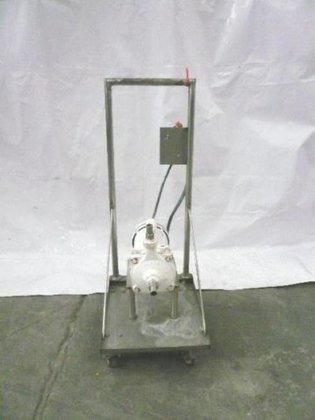 Carbon steel centrifugal pump. -